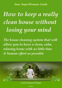 How to have a clean house without losing your mind
