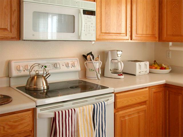 Clean kitchen!
